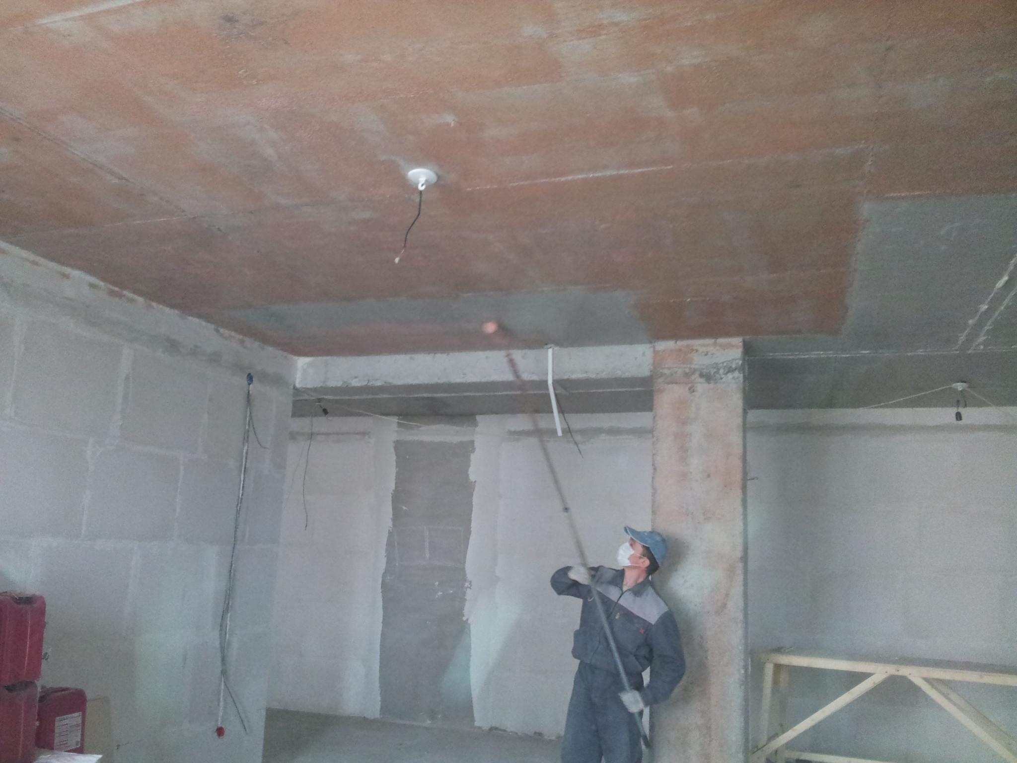 Как сделать монолитный потолок 55