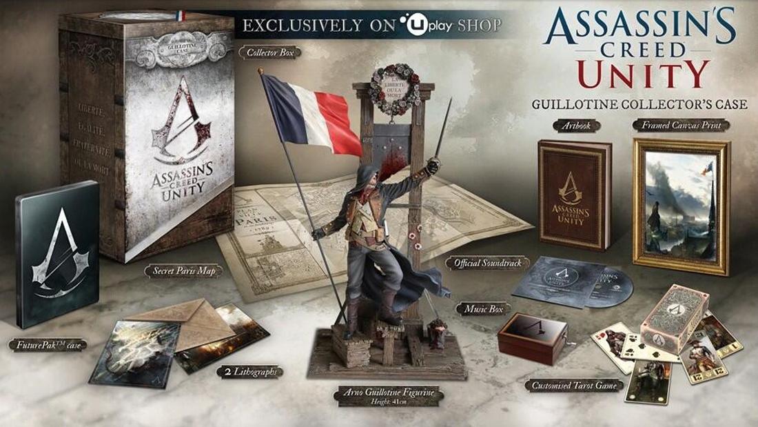 Распаковка коллекционного издания Assassin's Creed Единство