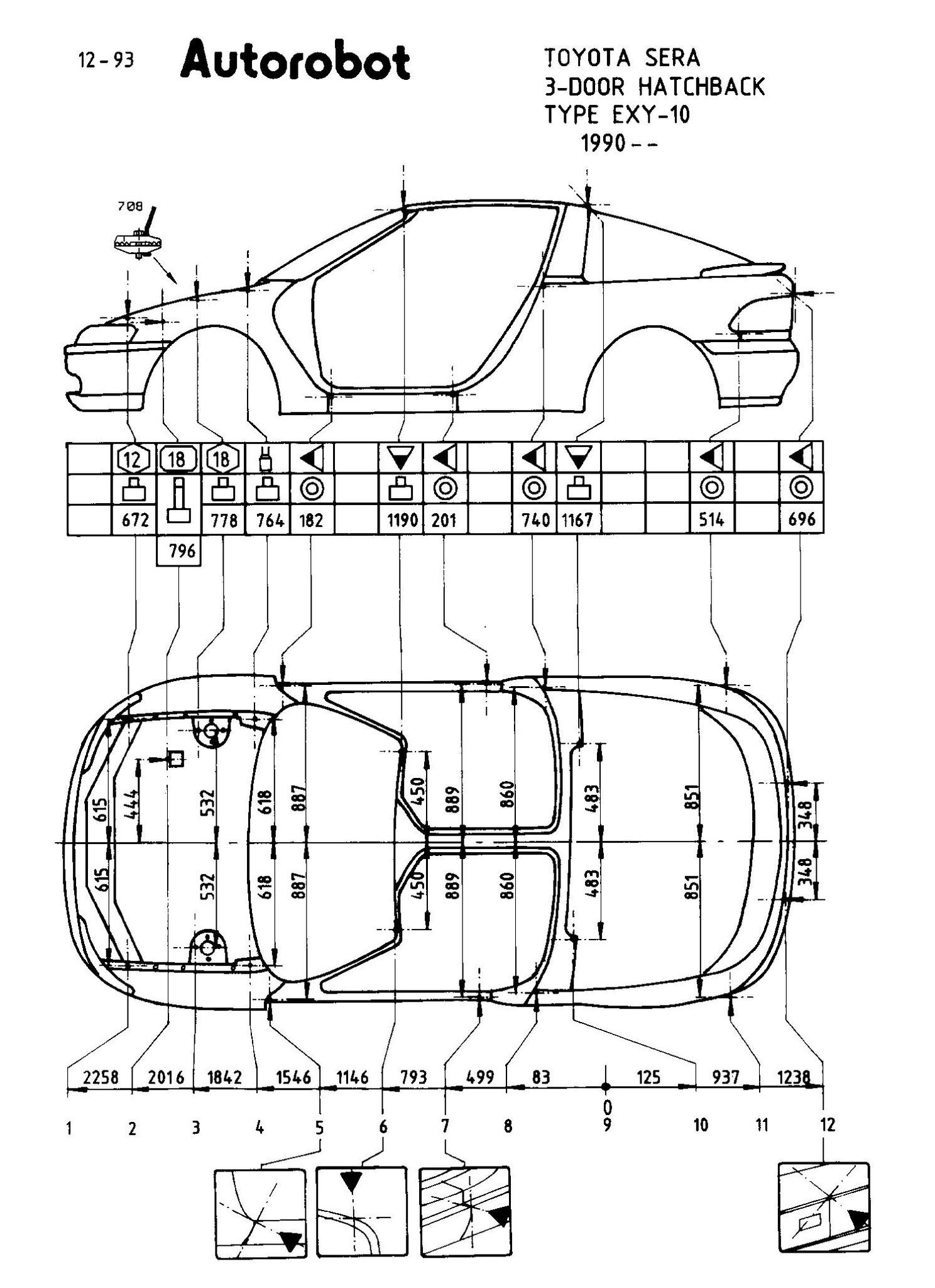 Autorobot 2.30 Кузовные Размеры