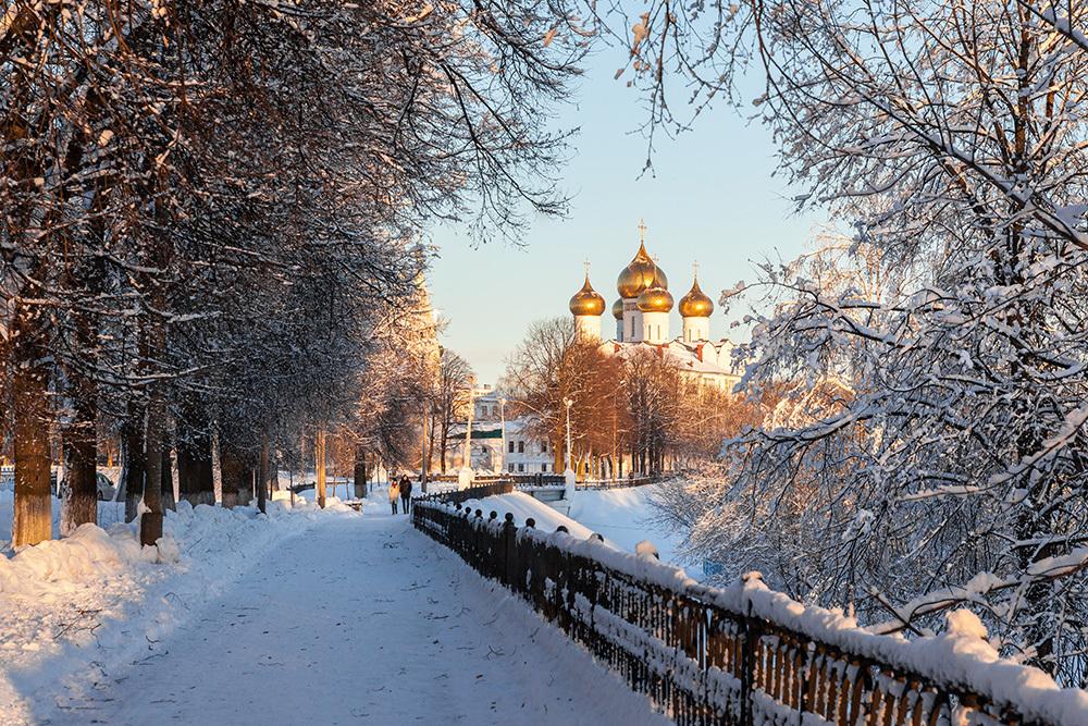фон зимние фото ярославль сборщики