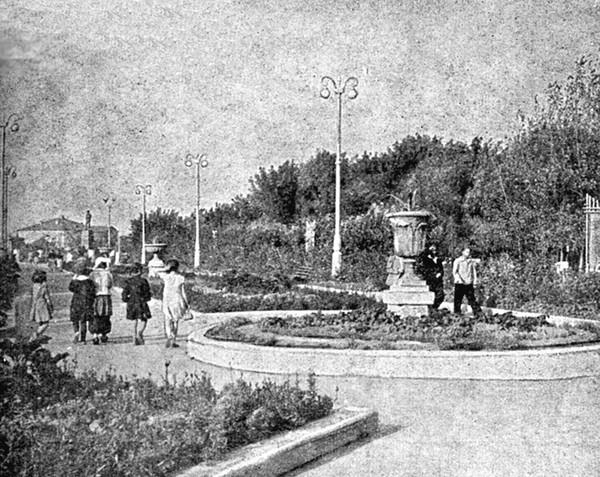 исторические фото парка мичурина тамбов нет