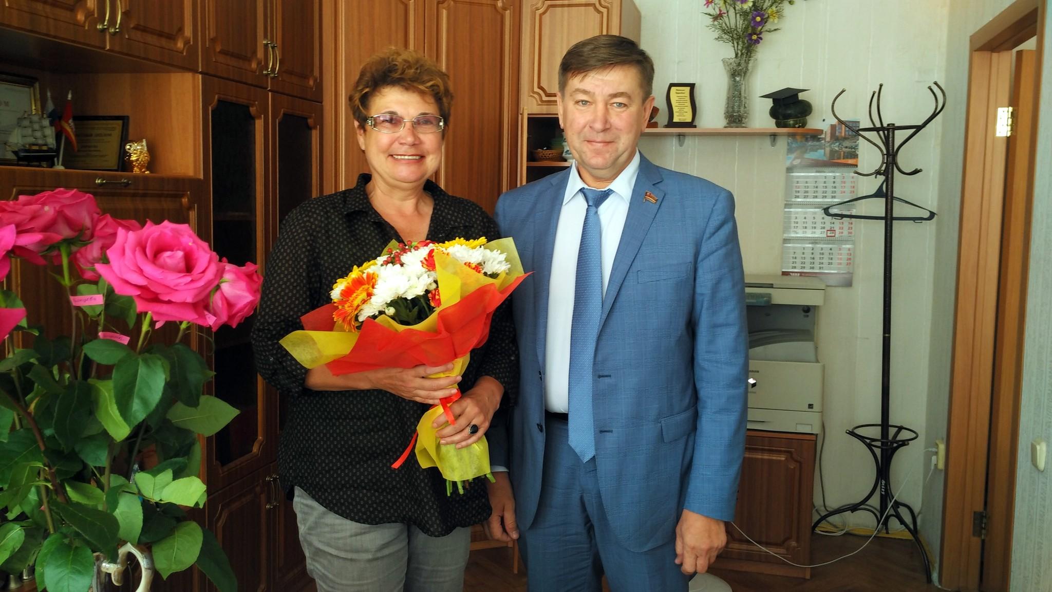 С днём рождения, Наталья Бруновна!